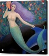 Song Of The Sea Mermaid Acrylic Print