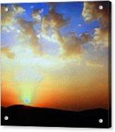 Sonnenuntergang 17052 Acrylic Print