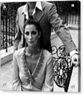 Sonny & Cher, Sonny Top, Cher Bottom Acrylic Print