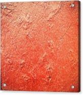 Sonoma Red Acrylic Print