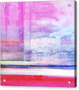 Sonoran Desert Sunset Acrylic Print