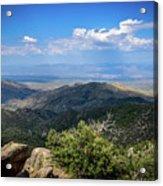 Sonoran Hillside Lookout Acrylic Print