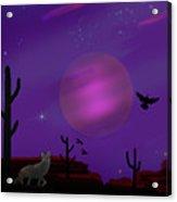 Sonoran Lucid Dream Acrylic Print