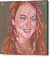 Sonrisa Sutil Acrylic Print