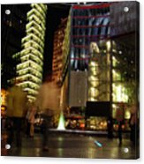 Sony Center Acrylic Print