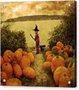 Soon Halloween Acrylic Print