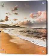 Soothing Seaside Scene Acrylic Print