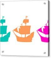 Sorbet Ships Acrylic Print
