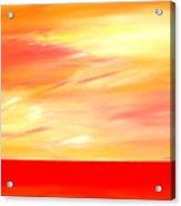 Sorbet Sky Acrylic Print