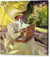 Sorolla: Painter, 1907 Acrylic Print
