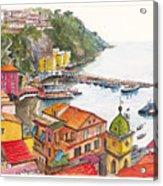 Sorrento Harbour Acrylic Print