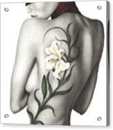 Sorrow Acrylic Print by Pat Erickson