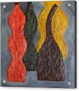 Sorted Vases Acrylic Print
