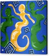 Soul Figures 2 Acrylic Print
