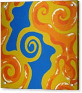 Soul Figures 5 Acrylic Print