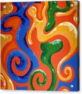 Soul Figures 7 Acrylic Print