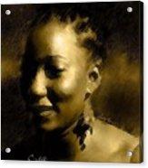 Soul Sista Acrylic Print