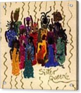 Soulful Sistahs Acrylic Print
