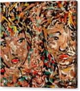 Soulmates Acrylic Print