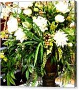 Sound Of Flowers Acrylic Print