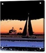 Sound Sailin 2 Acrylic Print