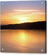 Sound Sunset Acrylic Print