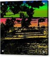 Soundside Treehouse View Acrylic Print
