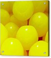 Sour Lemon Candies Acrylic Print