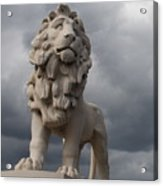 South Bank Lion.  Acrylic Print