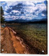 South Beach At Priest Lake Acrylic Print