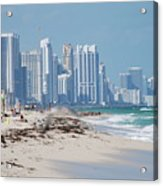 South Beach Baby Acrylic Print