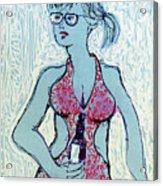South Beach No. 1 Acrylic Print