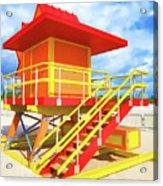South Beach Station Acrylic Print