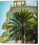 South Beach Vibes Acrylic Print