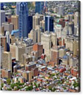 South Broad Street Philadelphia Acrylic Print