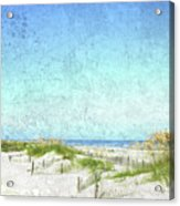 South Carolina Beach Acrylic Print