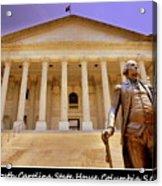 South Carolina State House Columbia Sc Acrylic Print