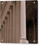 South Carolina State House Columns  Acrylic Print