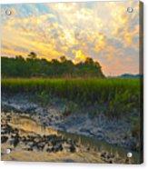 South Carolina Summer Sunrise Acrylic Print