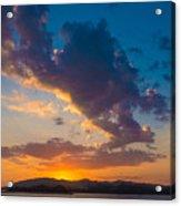 South China Sea Sunset Acrylic Print