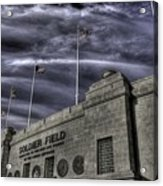 South End Soldier Field Acrylic Print by David Bearden
