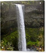 South Falls Of Silver Creek II Acrylic Print