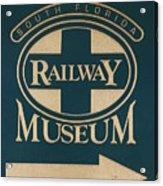 South Florida Railway Museum Acrylic Print