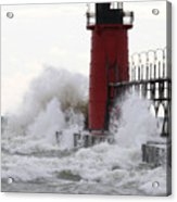 South Haven Lighthouse 3 Acrylic Print