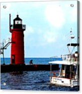 South Haven Michigan Lighthouse By Earl's Photography Acrylic Print