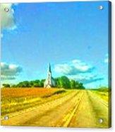 South Immanuel, On A Hill Far Away Acrylic Print