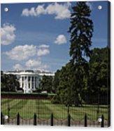 South Lawn - White House Acrylic Print