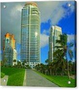 South Miami Beach Acrylic Print