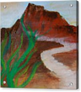 South Mountain Sunset Impression Acrylic Print