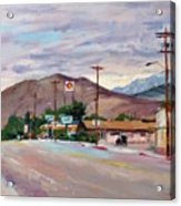 South On Route 395, Big Pine, California Acrylic Print